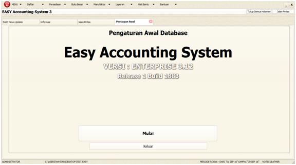 database-sukses