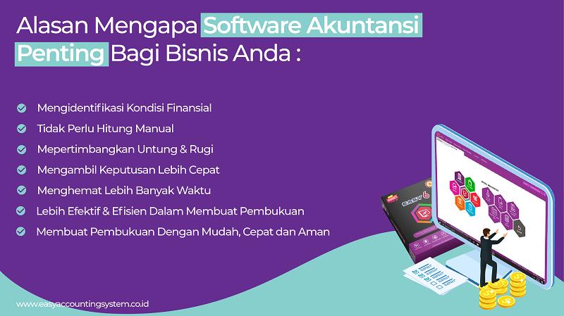 Pentingnya Software Akuntansi - Easy 6